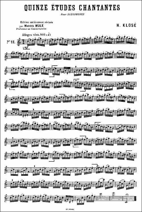 15首如歌的练习曲之11—15_长笛五线谱|长笛谱