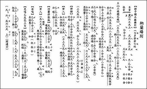 [粤曲]纳兰殇别_工尺谱_其他唱谱|戏谱