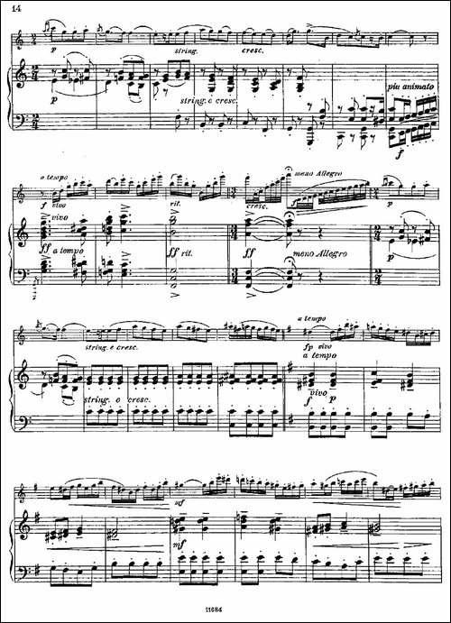 Introduction-et-Caprice-Op.58-长笛+钢琴伴-长笛五线谱|长笛谱