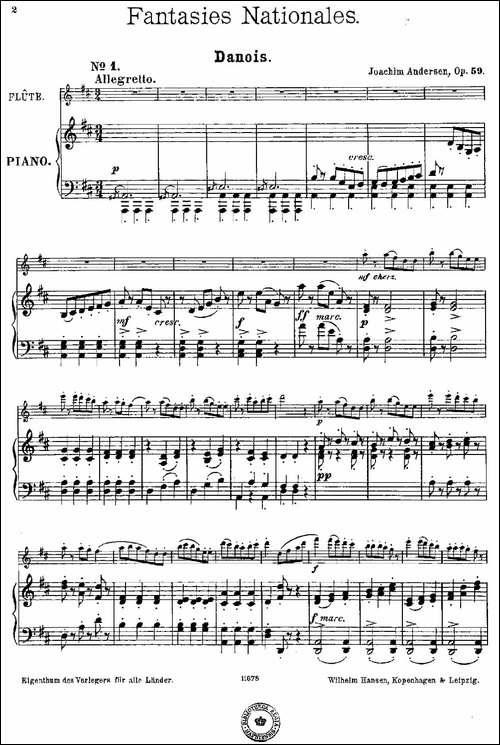 Fantaisies-nationales.-Danois.--Op.59-No.1-长笛五线谱|长笛谱