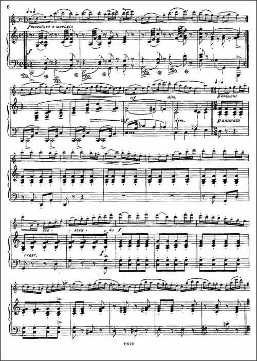 Fantaisies-nationales.-Ecossais.--Op.59-No-长笛五线谱|长笛谱
