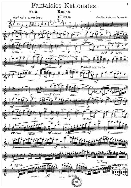 Fantaisies-nationales.-Russe.--Op.59-No.3-长笛五线谱|长笛谱