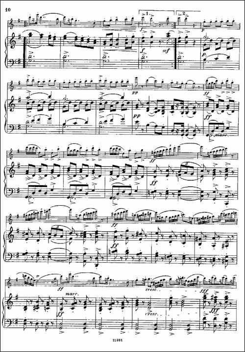 Fantaisies-nationales.-Suedois.-Op.59-No.4-长笛五线谱 长笛谱