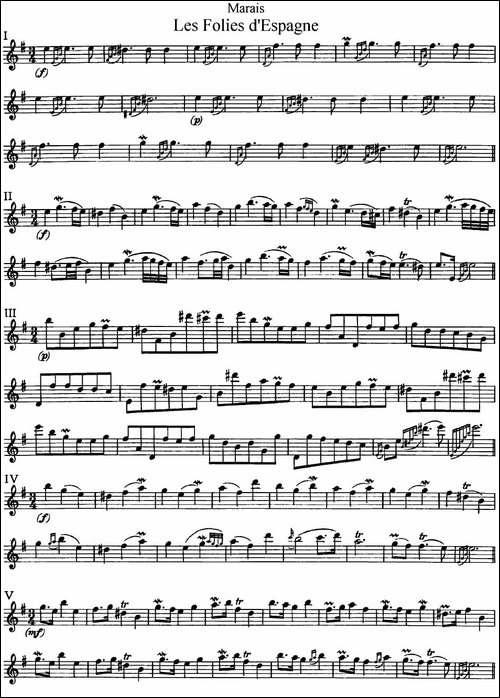 马瑞斯25首长笛小练习曲-NO.1-NO.5-长笛五线谱 长笛谱