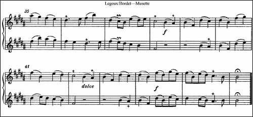 莱枸克斯长笛二重奏-长笛五线谱|长笛谱