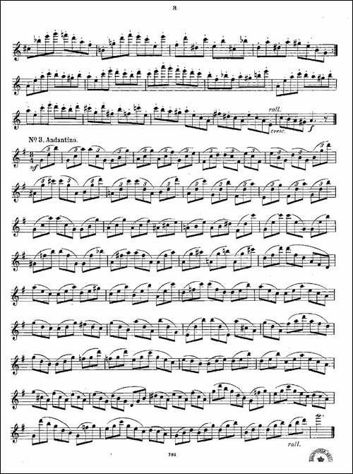 18-kleine-Studien.Op.41-长笛五线谱 长笛谱