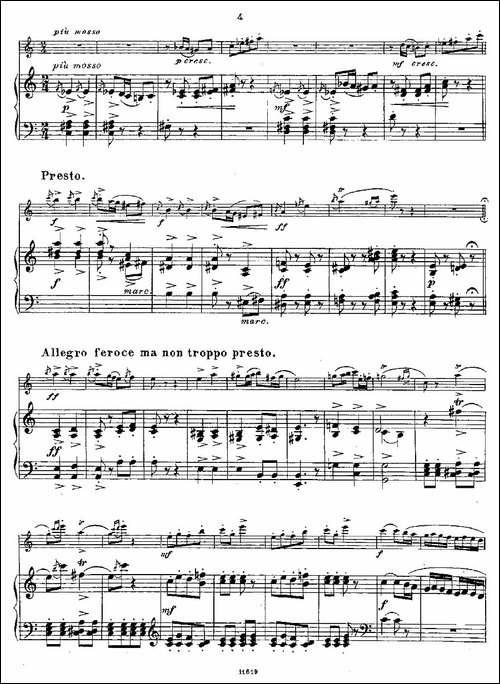 Opern-Transcriptionen.Op.45-7-长笛+钢琴伴-长笛五线谱|长笛谱