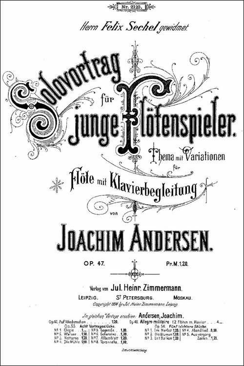Solovortrag-fur-junge-Flotenspieler.Op.47--长笛五线谱 长笛谱