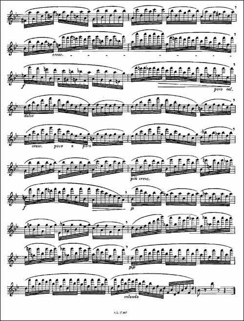 Moyse-25-Studies-after-Czerny-flute-[4]-25-长笛五线谱|长笛谱