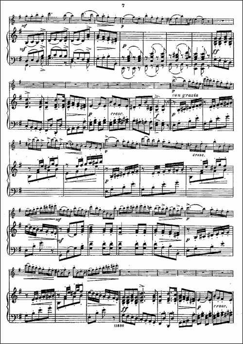 Fantaisies-nationales.-Op.-59,-3.--长笛+钢-长笛五线谱 长笛谱