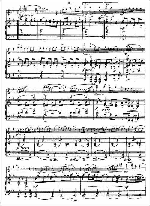 Fantaisies-nationales.-Op.-59,-4.--长笛+钢-长笛五线谱|长笛谱