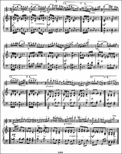 Fantaisies-nationales.-Op.-59,-6.--长笛+钢-长笛五线谱 长笛谱