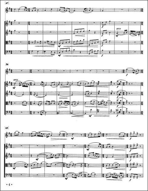 梅花-箫与弦乐五重奏-笛箫间谱 笛箫谱