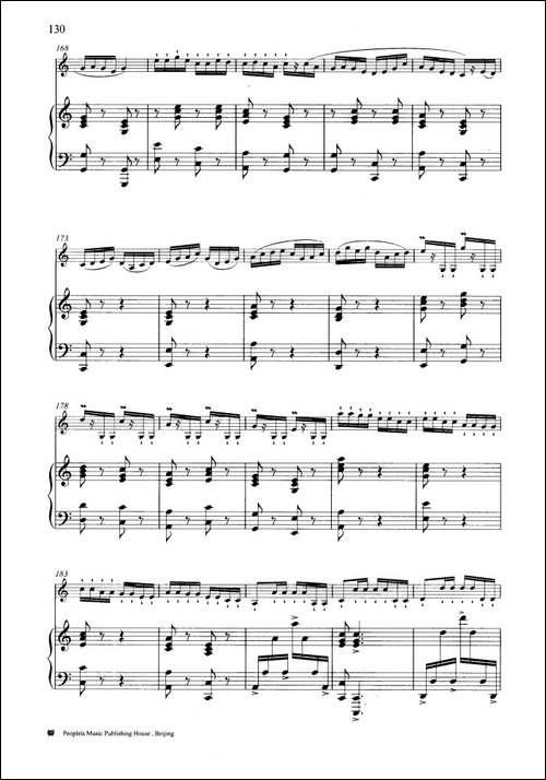 春风遍江南-钢琴伴奏谱-笛箫简谱|笛箫谱