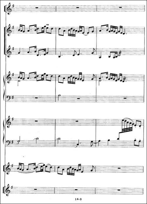 茉莉花-箫独奏+民乐队伴奏-笛箫简谱|笛箫谱